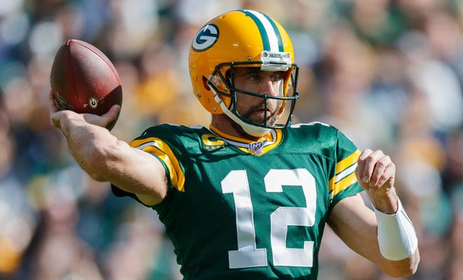 Aaron Rodgers thriving in training camp