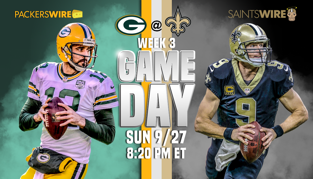 Green Bay Packers Coming in Hot for Week 3