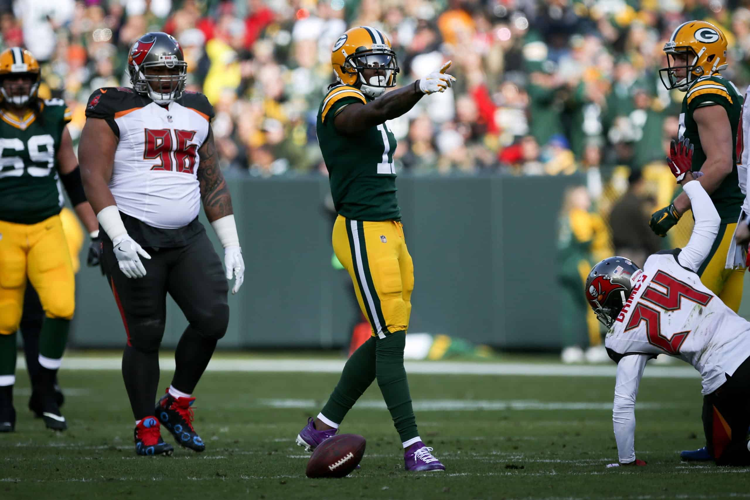 Green Bay Packers Offense vs. Tampa Bay Buccaneers Defense
