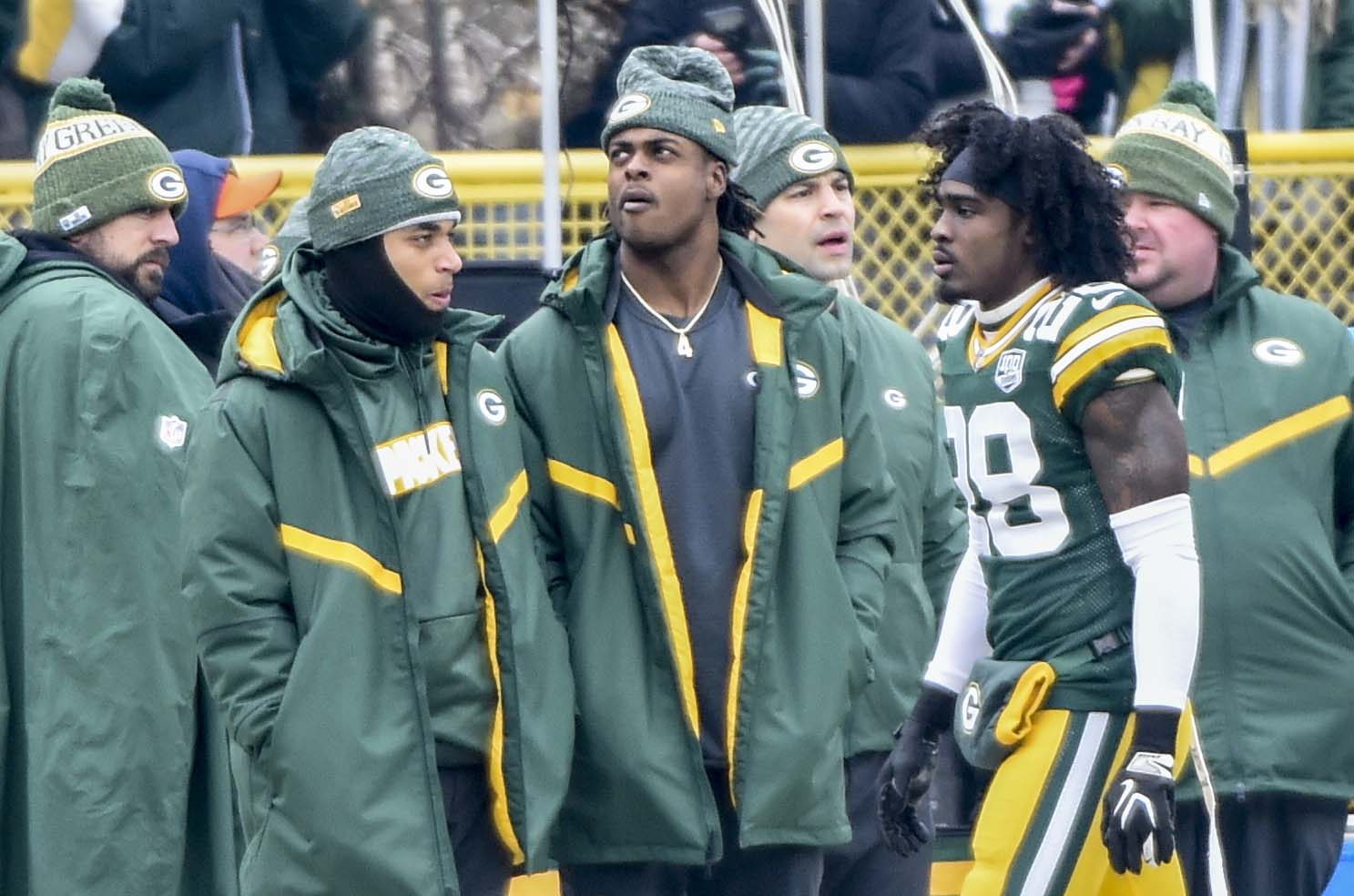 Davante Adams Isn't Pleased With Sitting Out Week Four