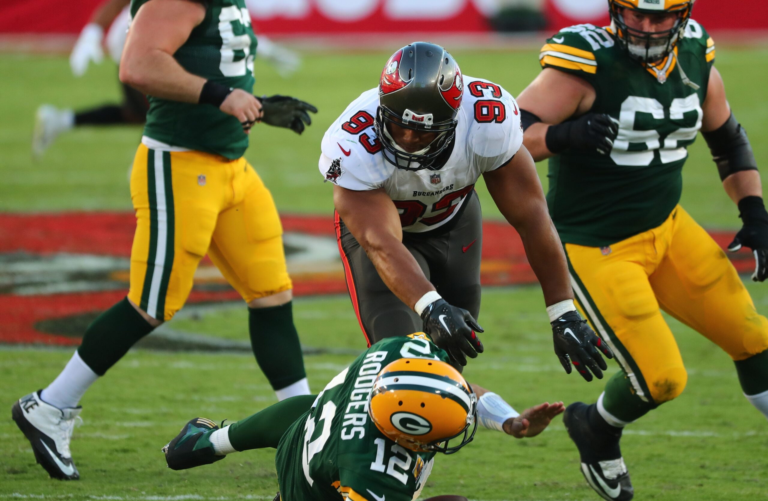 Keeping Rodgers upright is key to Packers victory over Bucs