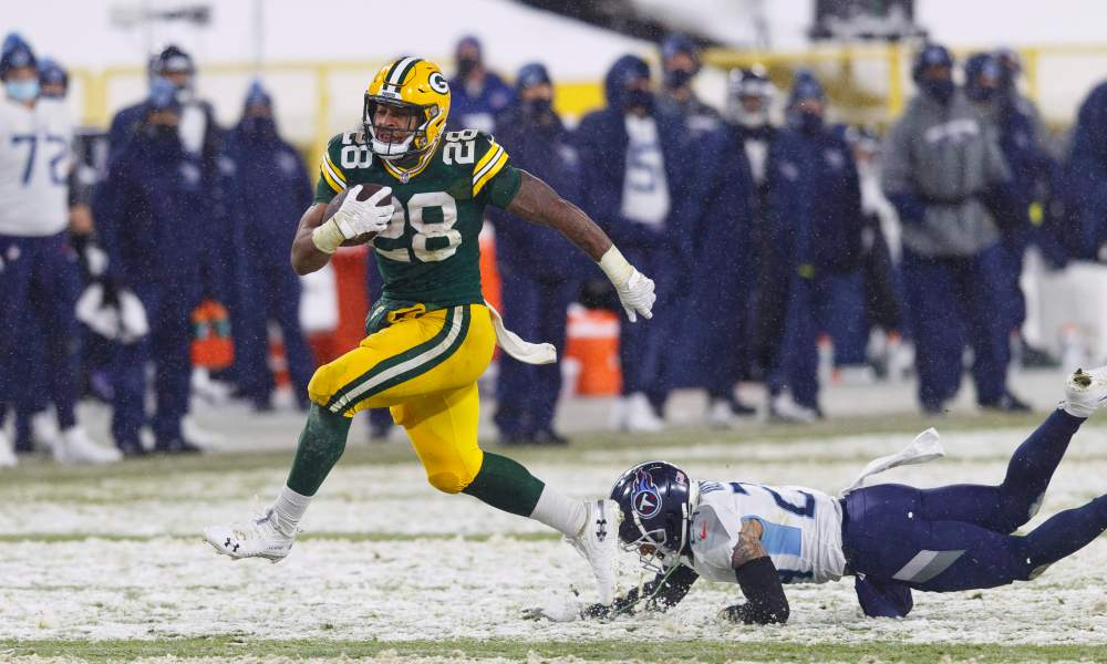 Green Bay Packers roll with AJ Dillon into 2021