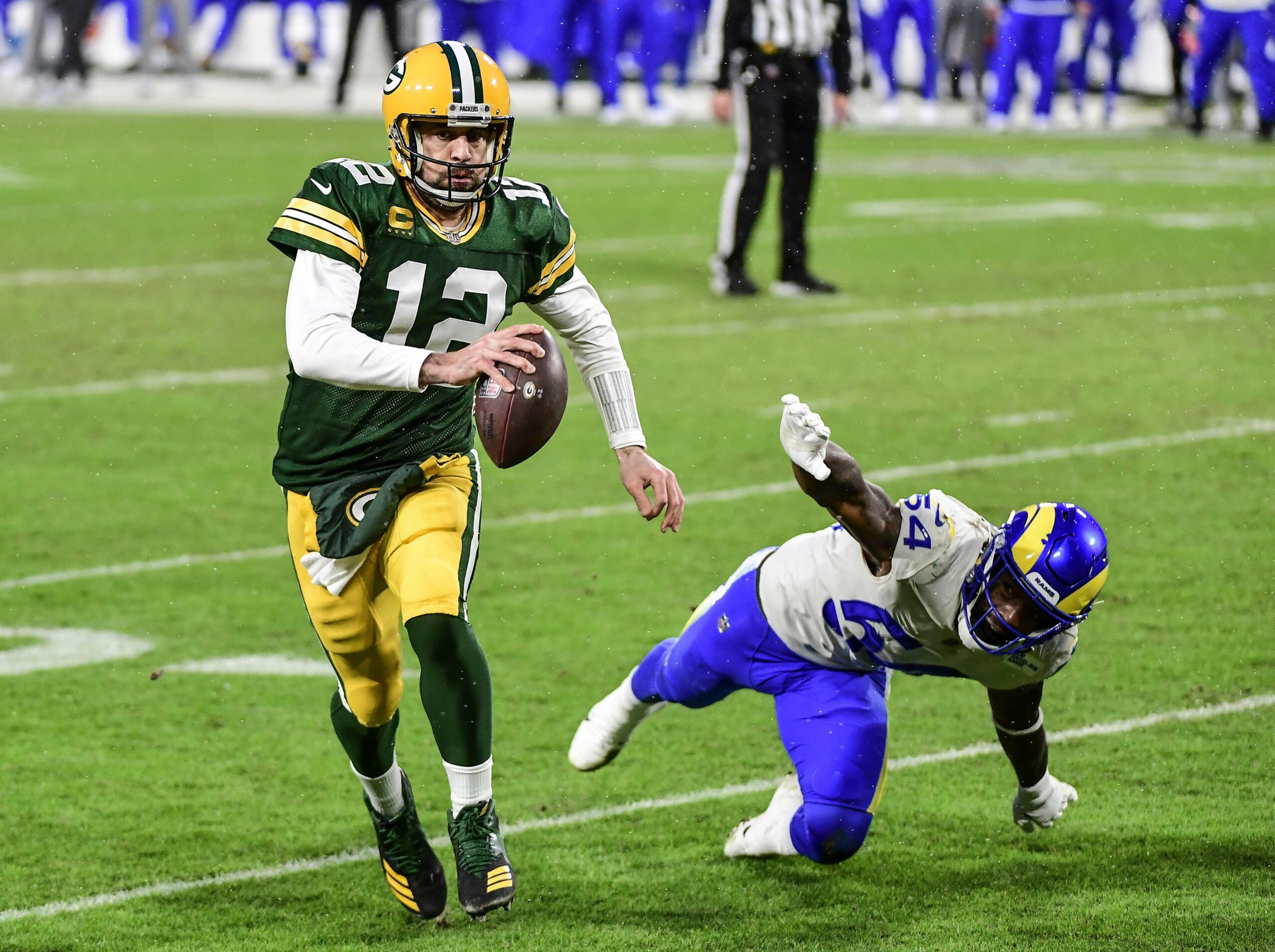 Packers dominate Rams to advance to the NFC Championship Game