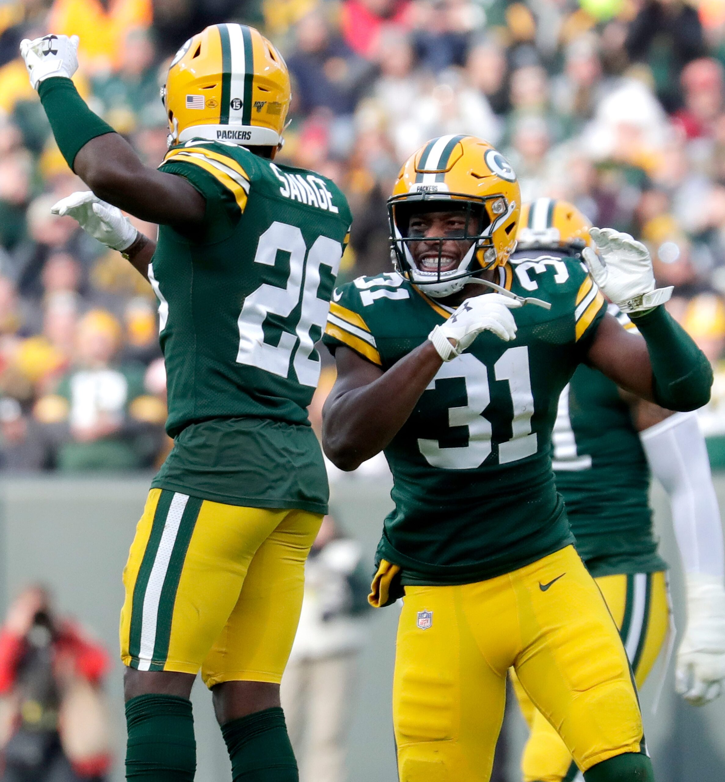 Amos, Savage playing best football at right time