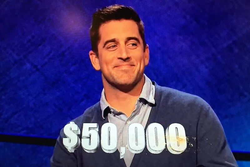 Aaron Rodgers slated to be guest host on 'Jeopardy'