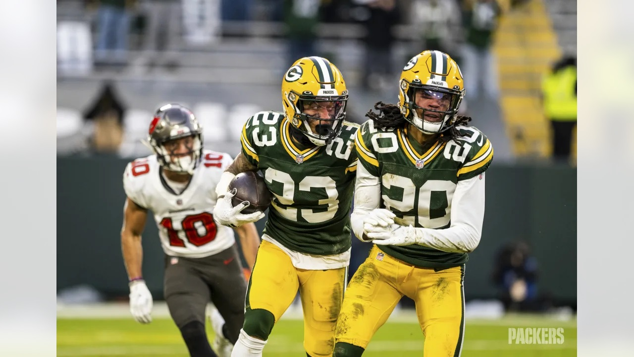Mock Draft: Packers trade up in 2nd round to select Jaire's new wingman