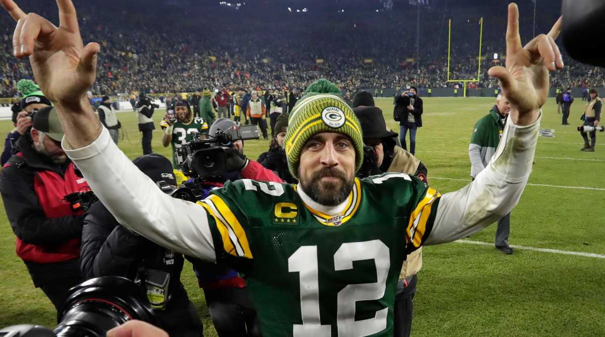 Rodgers Wins Third MVP