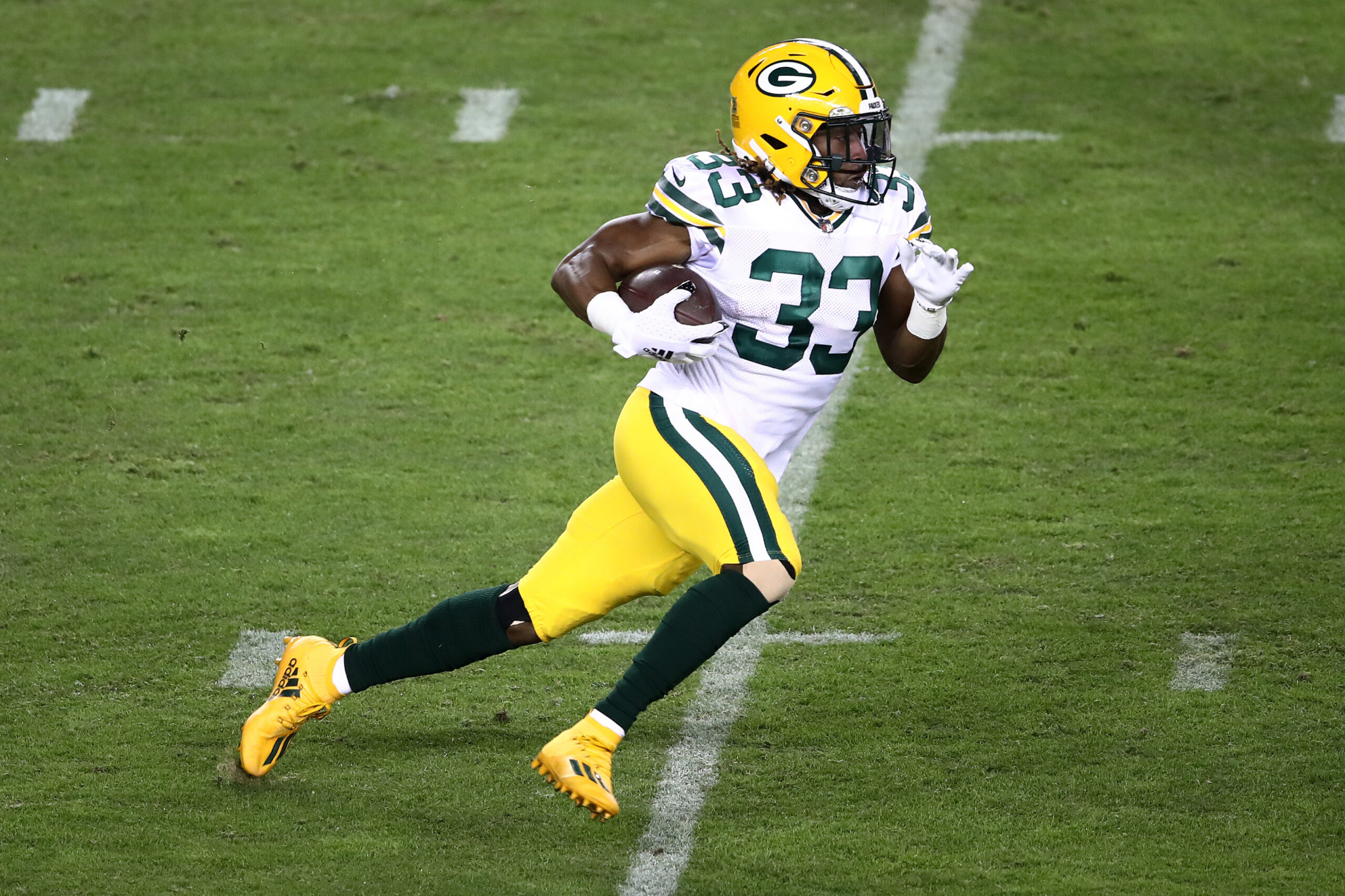 Green Bay Packers' Aaron Jones to enter free agency