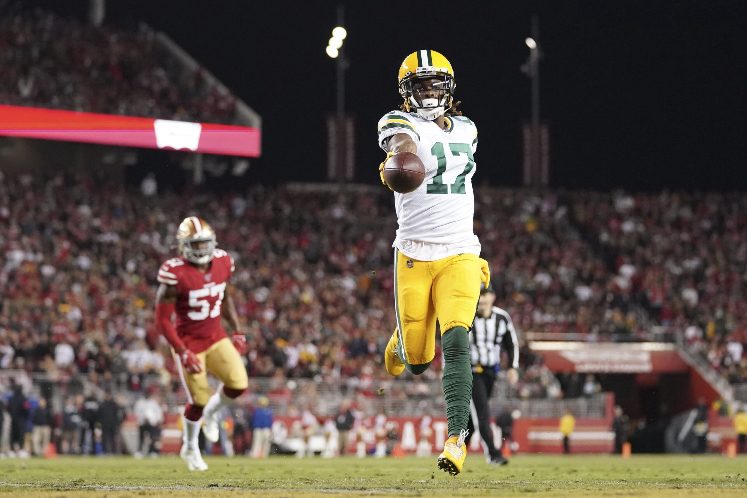 Is Davante Adams out of Green Bay as well?