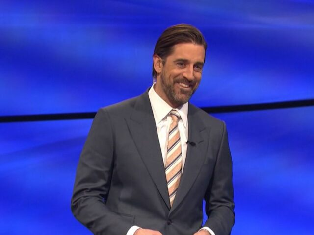 Aaron Rodgers guest hosting Jeopardy