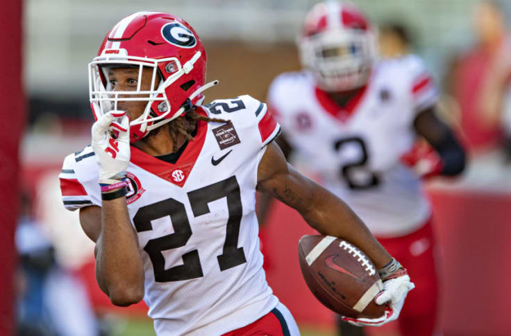 BREAKING: Packers select Georgia CB Eric Stokes with 29th overall pick