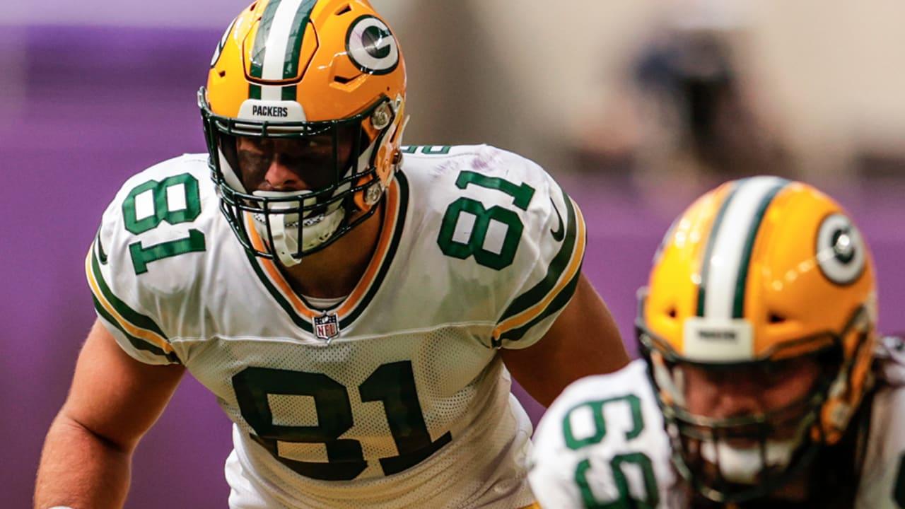 How will Packers TE Josiah Deguara return from injury?