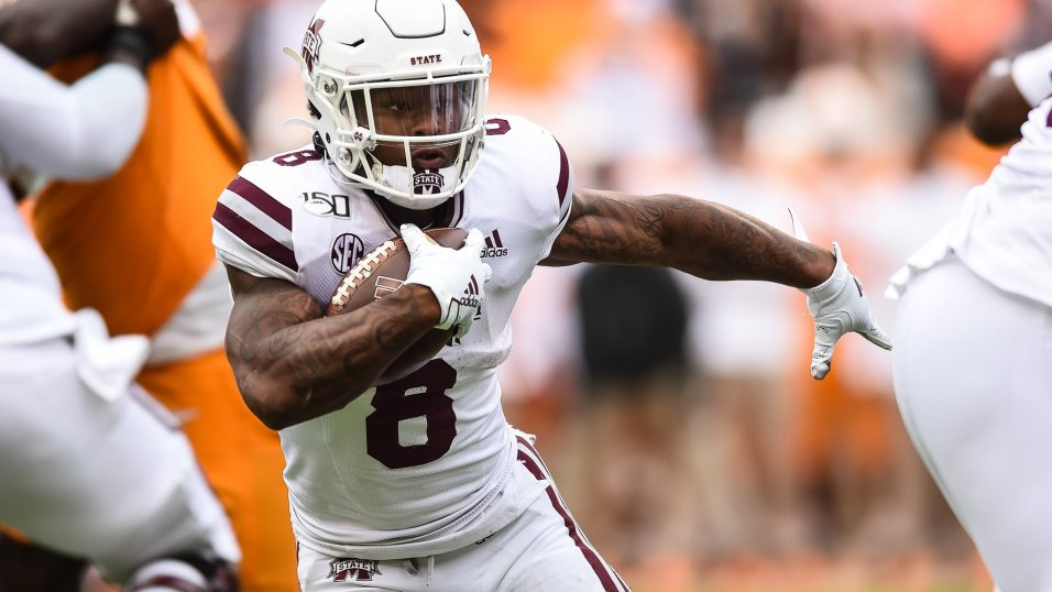 BREAKING: Packers select Mississippi State running back Kylin Hill with 256th overall pick