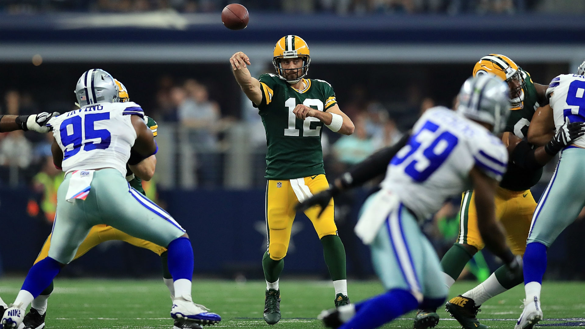 Answering questions about the Green Bay Packers