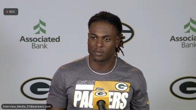 Davante Adams locked in for Packers offseason