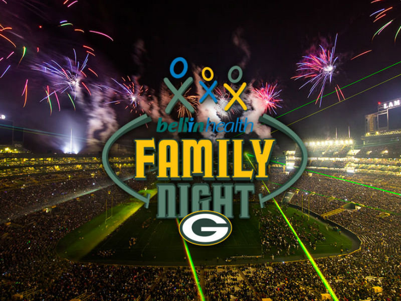 Packers Family Night Tickets to go on sale July 14th