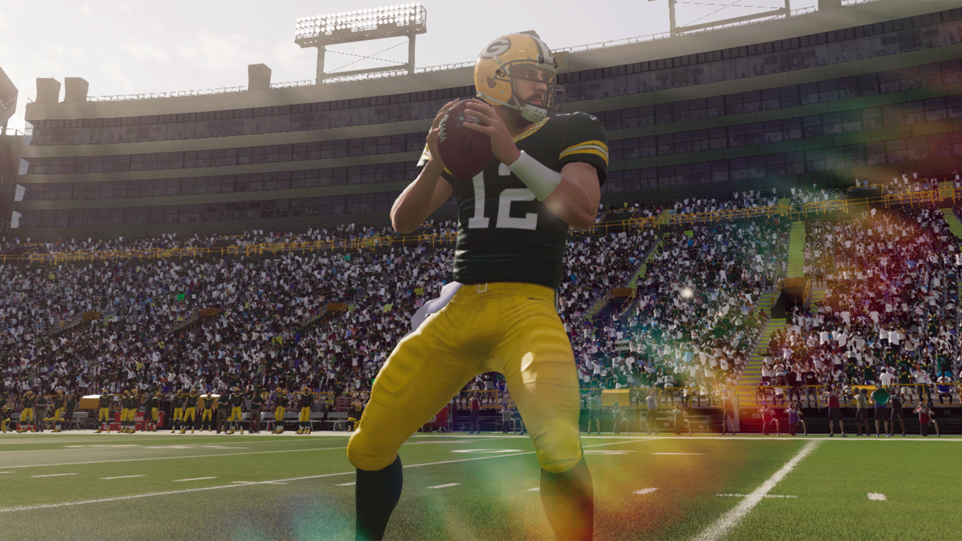 Could Aaron Rodgers grace the cover of Madden 22?