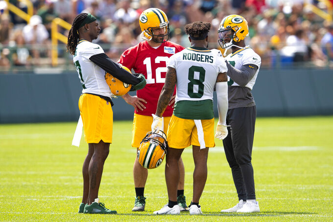 Expectations for Packers WR Amari Rodgers