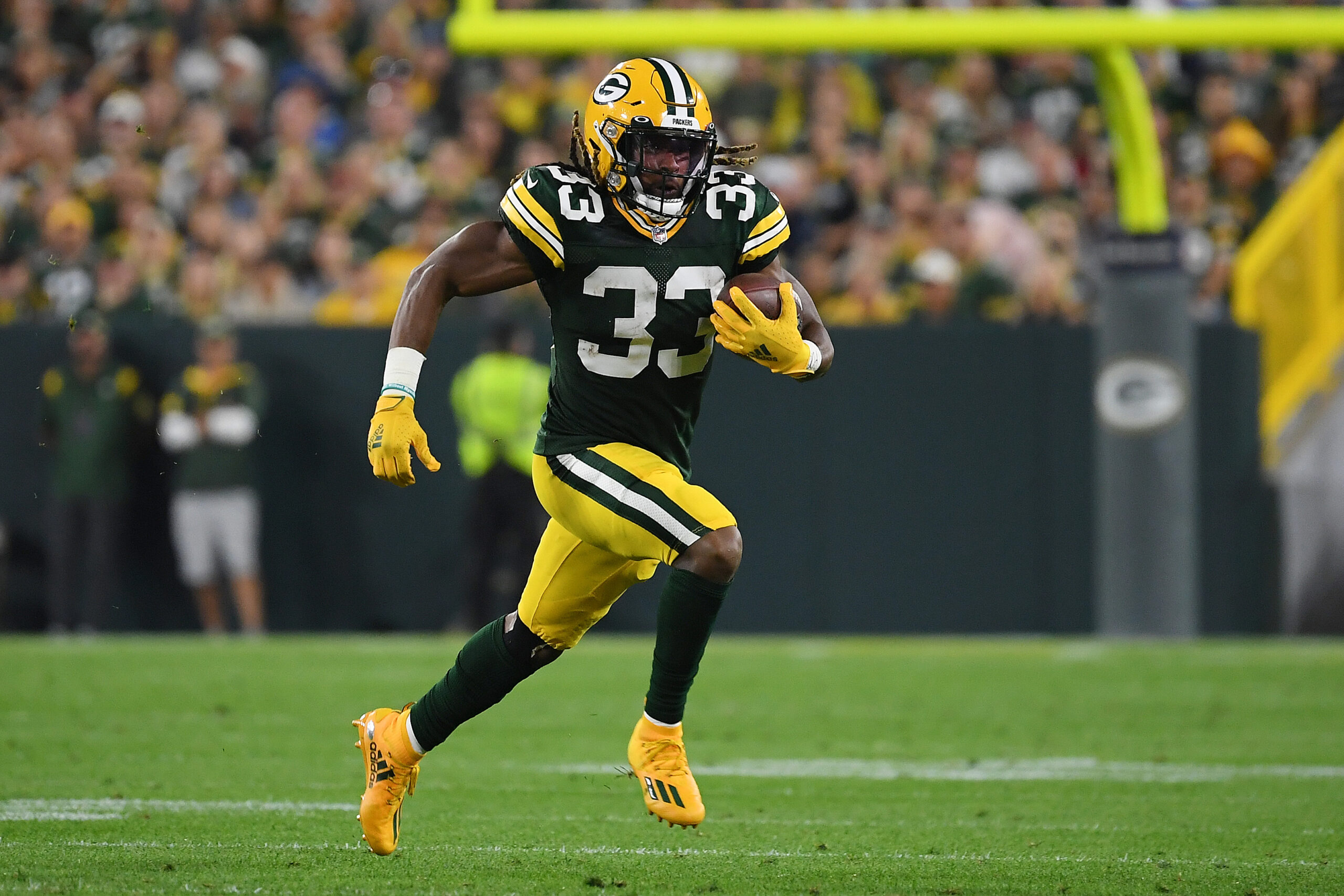 Aaron Jones is the Packers Most Valuable Defender