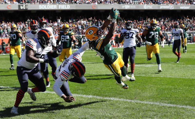 Packers vs Bears Game Recap