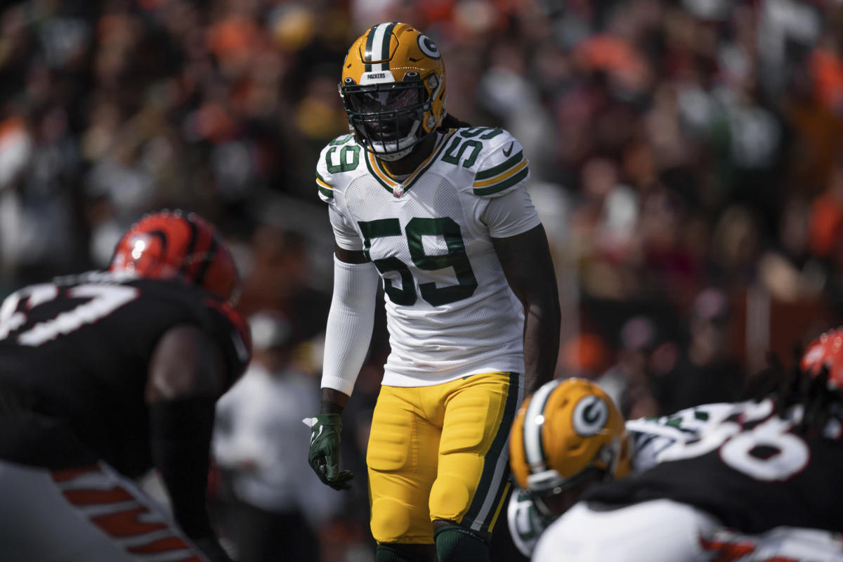 It's time to talk about Packers inside linebacker De'Vondre Campbell