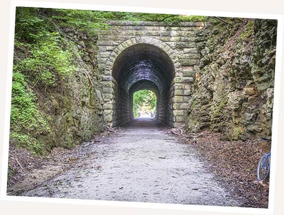Stone Tunnel at Katy Trail image