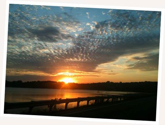 Beautiful Sunset at MCT Trails image