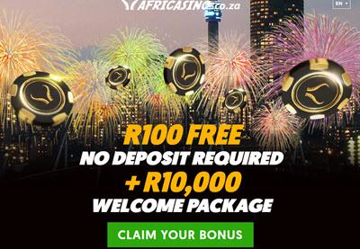 Africasino no deposit bonus code