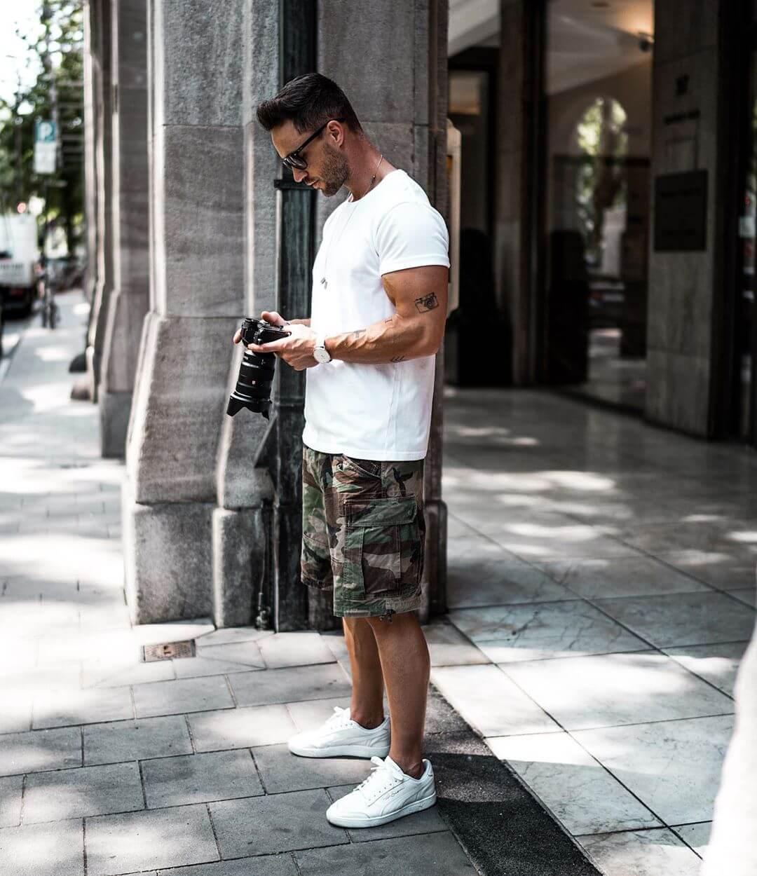 Những item quần short mà mọi chàng trai ưa style năng động cá tính