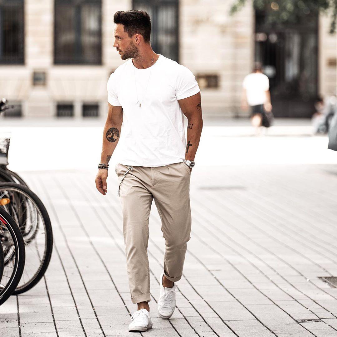 Bí kíp diện áo thun trắng mỗi ngày đã không nhàm chán lại còn đầy tự tin