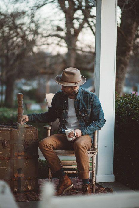 6 cảm hứng phối đồ với denim jacket giúp chàng thêm phong tính nam trần