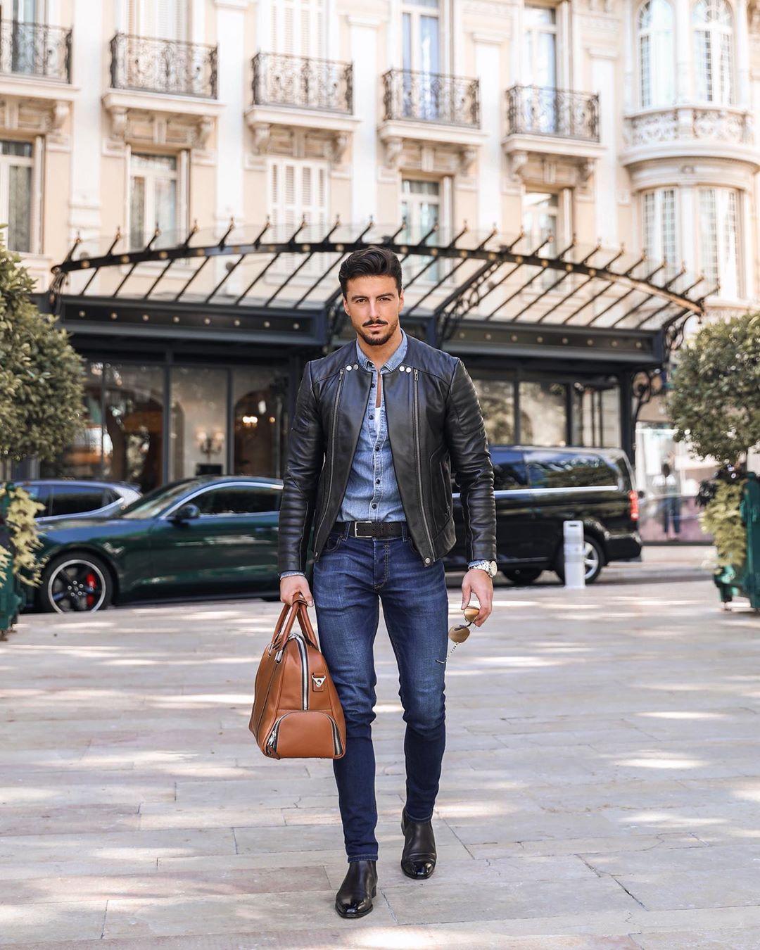 Vừa bảnh vừa chất với 7 cách phối đồ nam cùng quần jeans cá tính