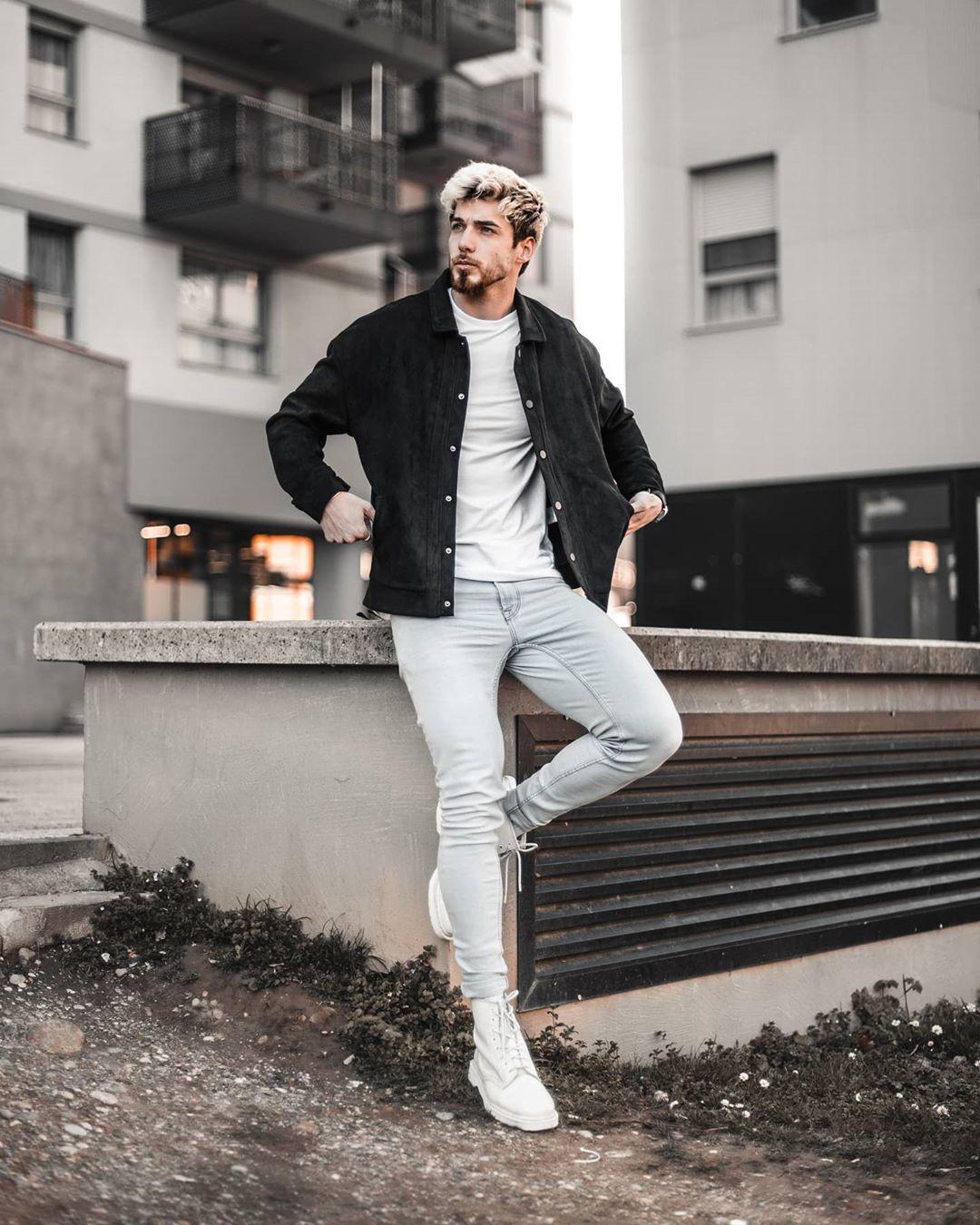 4 gợi ý phối quần skinny jeans đậm chất streetwear cho anh chàng