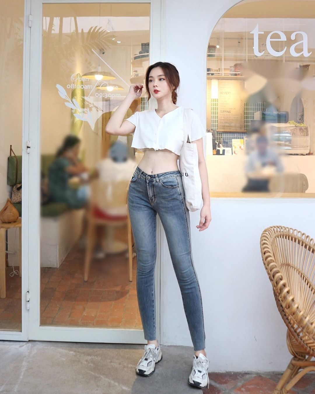 [DENIM PLUS JEANS SHOP] noi de nang thoa man niem dam me quan jeans bat tan (1)