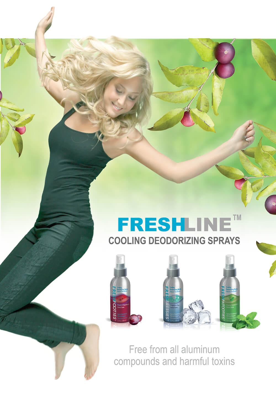 Freshline Cool Jumping girl