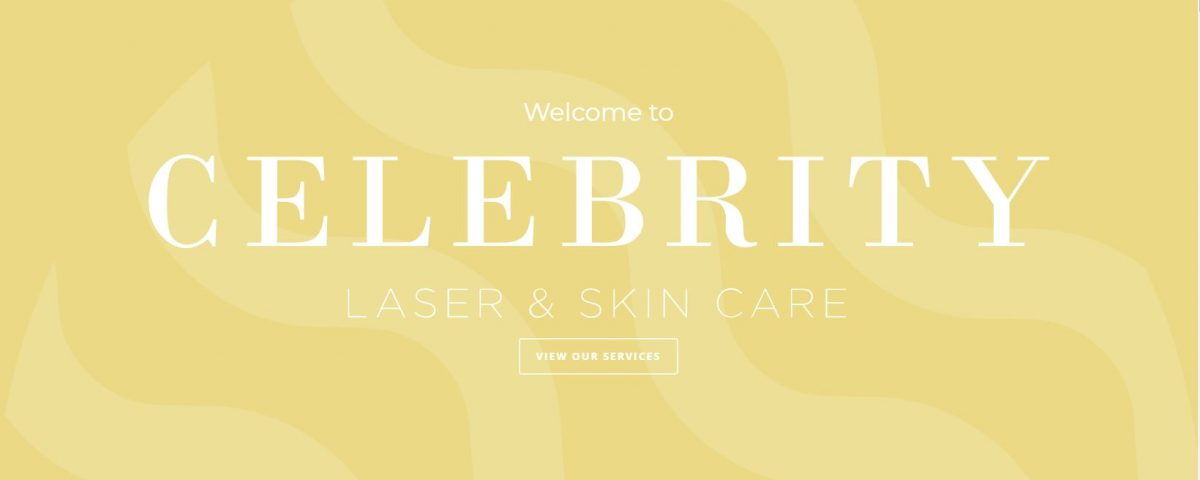 Celebrity Laser Clinic Welcome Screen