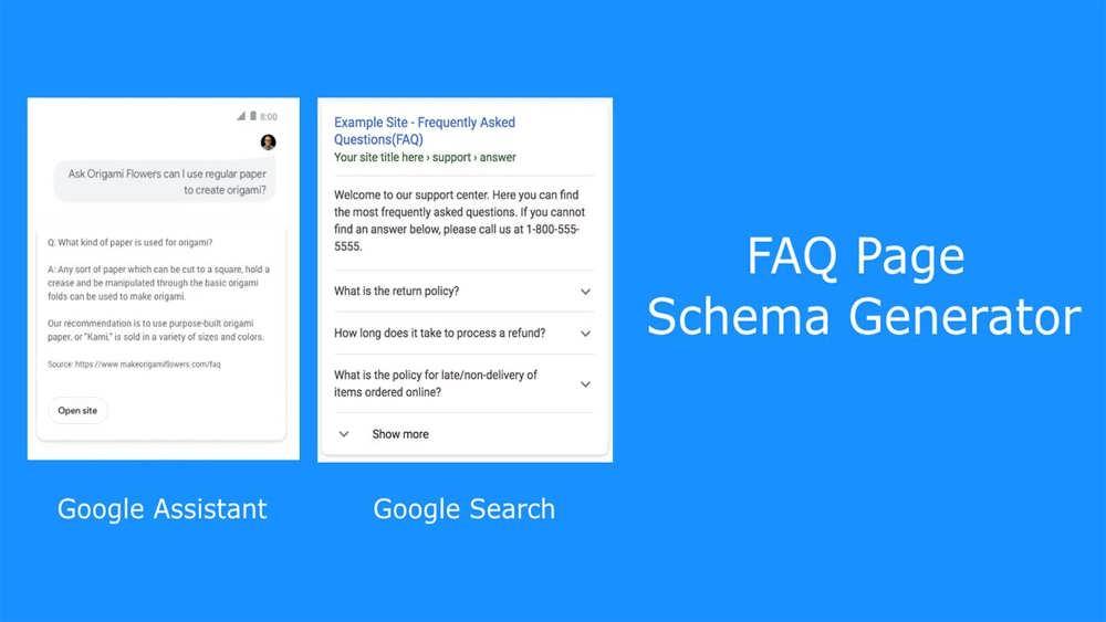 Add the FAQ schema to your website