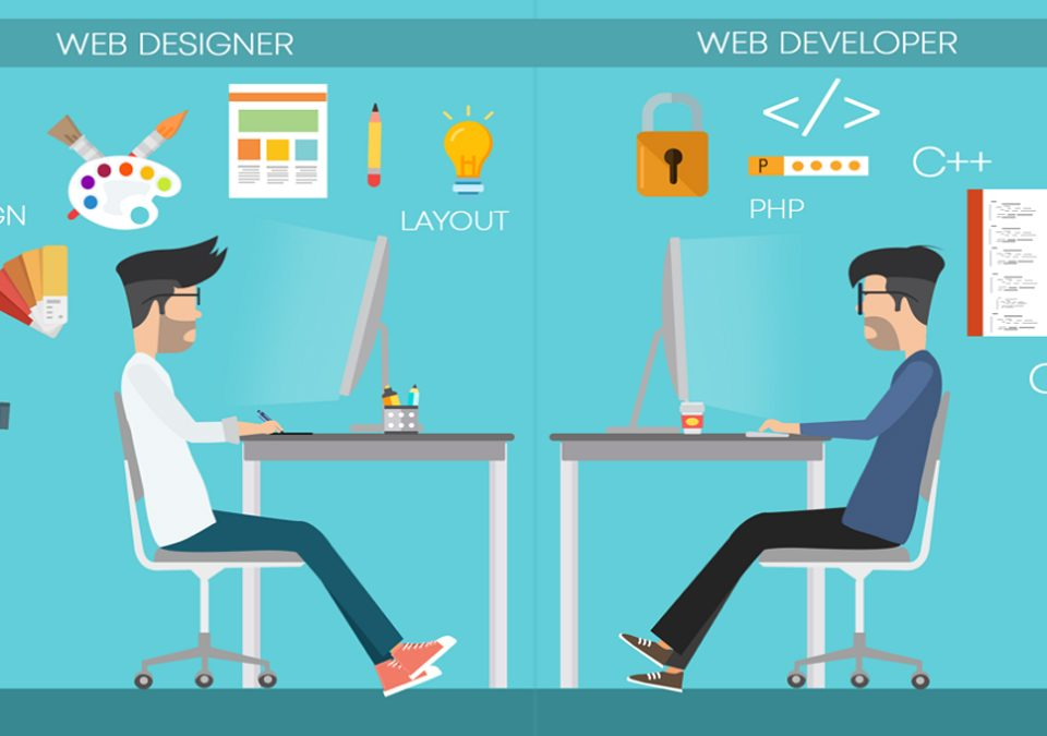 Difference between a web designer and a web developer