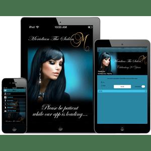 MeridianHair Mobile App