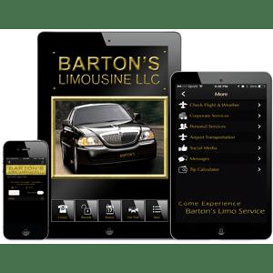 Bartons limo mobile app