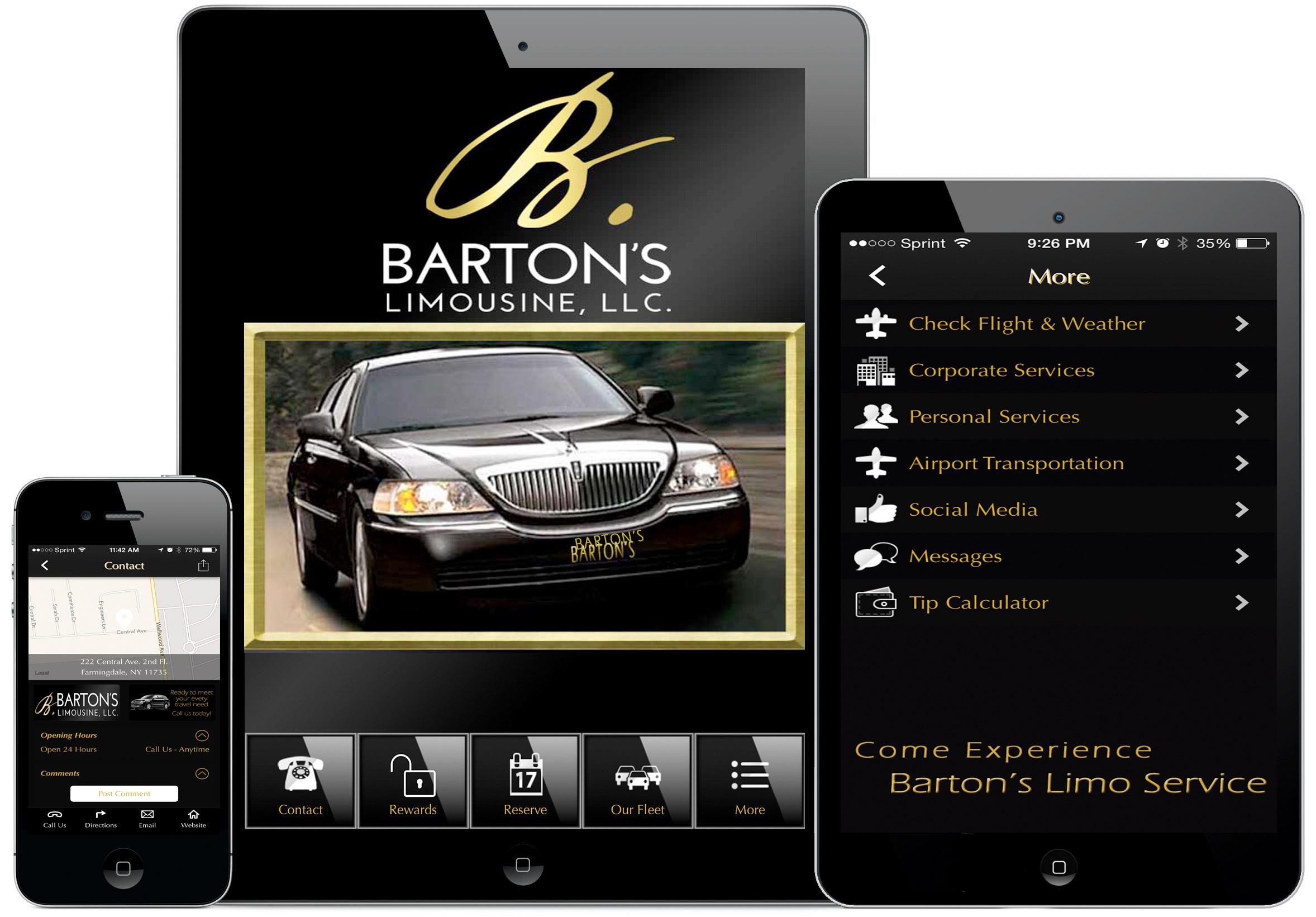 bartons limousine