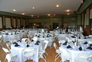 Wedding reception at the Butler Building