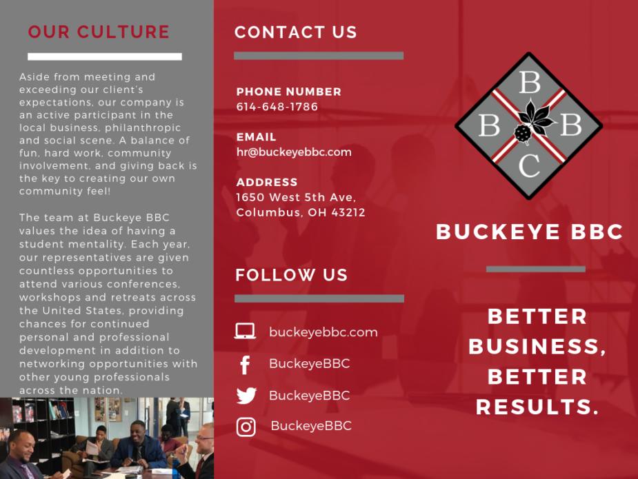Buckeye BBC | Trifold