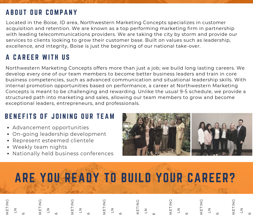 Northwestern - Recruitment Flyer