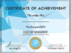 Primetime-Assistant Manager Certificate