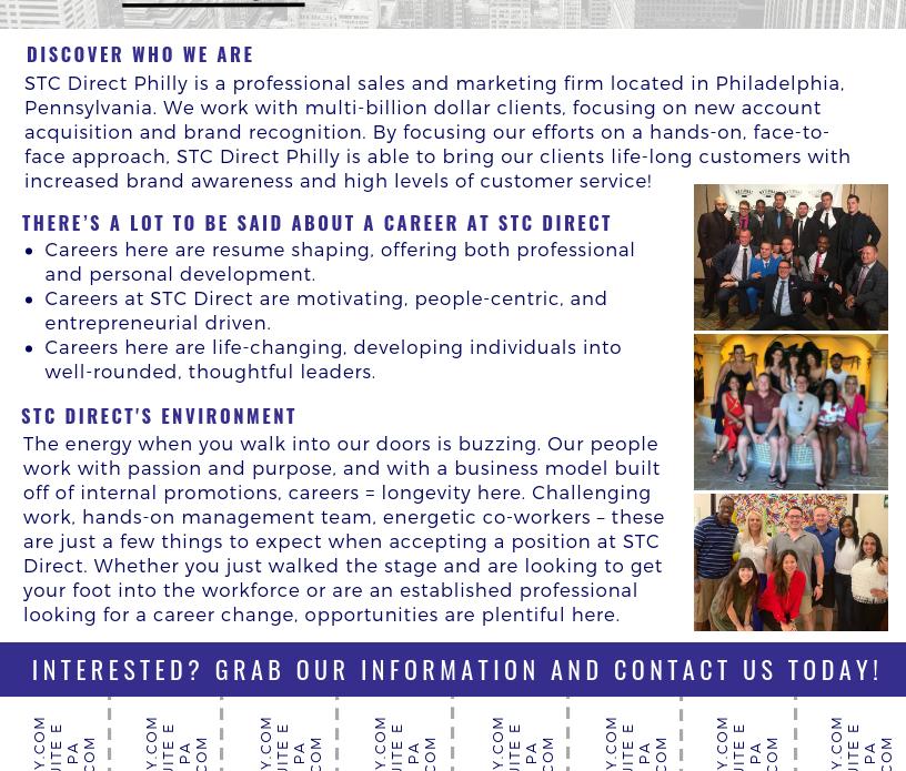 STC Direct - Job Flyer