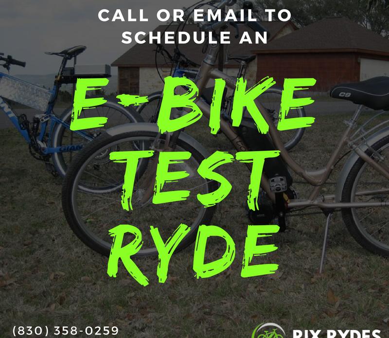rix rydes-e-bike test rides