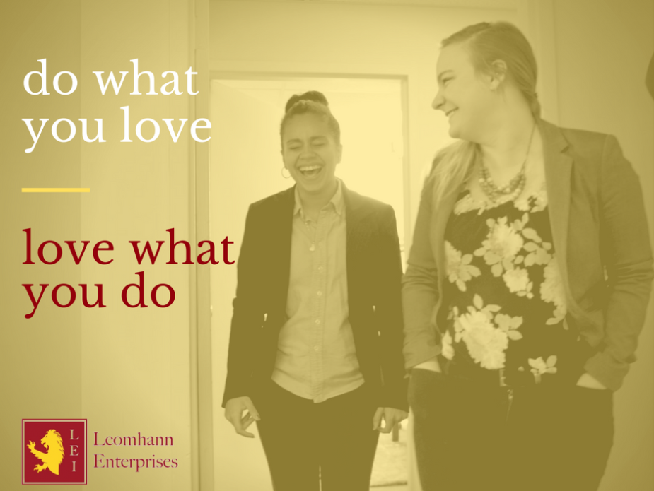 LEI-do what you love