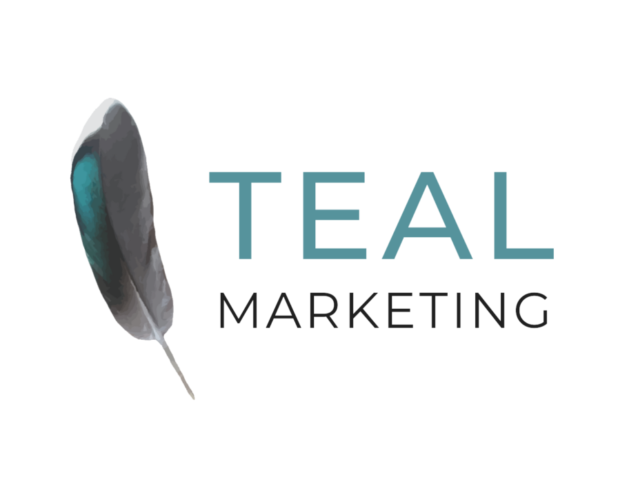 Teal Marketing Logo Transparent