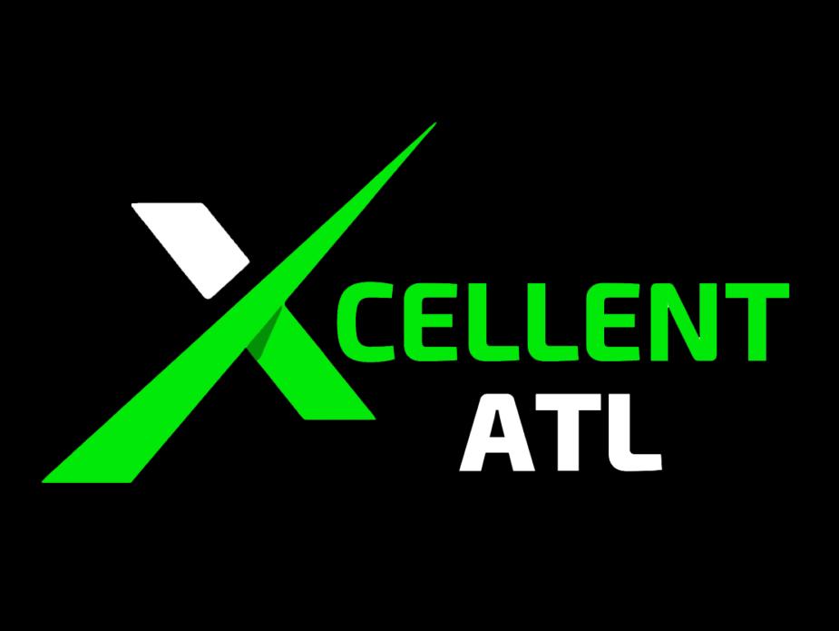 Xcellent ATL Logo Black Background